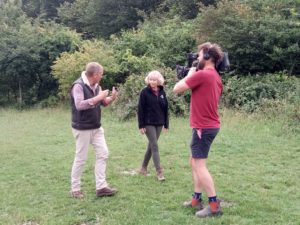 CEO Jayne talks to BBC Countryfile's Tom Heap