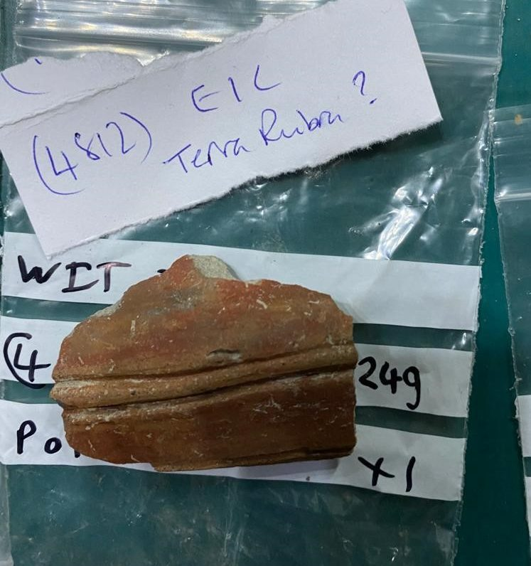Image: Terra Rubra from late Iron Age to sometime just after Roman conquest